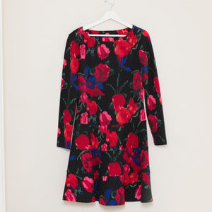 Ivanka Trump Floral Drop Waist Dress 10